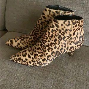 Sam Edelman cheetah boots size 9